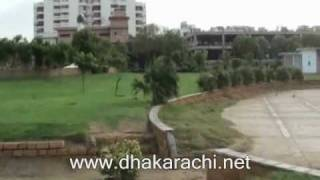 ZAMZAMA PARK PHASE 5 DHA DEFENCE KARACHI PAKISTAN PROPERTY REALESTATE 2017 Video