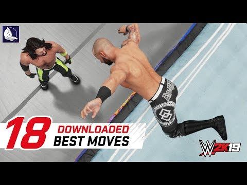 WWE 2K19 Top 18 Best Downloaded moves in the game