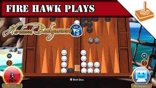 FH Plays... Hardwood Backgammon
