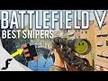 Battlefield 5 Best Sniper Rifles and Skill Trees!