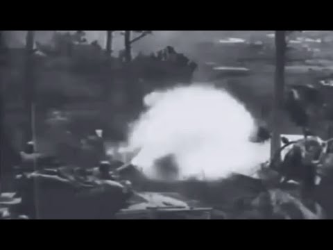 Baguio City Captured Luzon, Philippine Islands 1945 WW2 Combat Footage