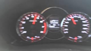 TD 04L/Stock/Subaru Forester SH 2.5 XT manual/2009MY second gear