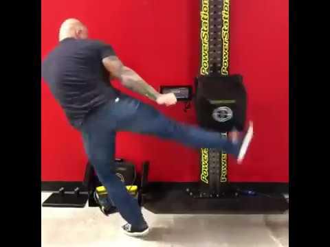 UFC commentator Joe Rogan broke Francis Ngannou's 'PowerKube' score at the  UFC Performance Institute