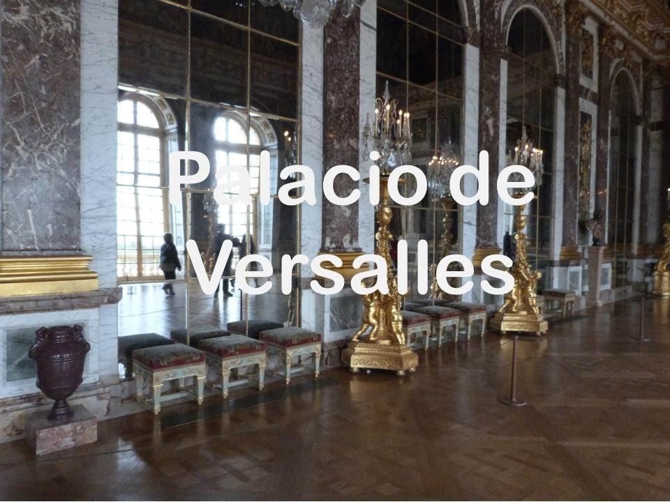 Palacio de versalles francia galer a de los espejos for Salon los espejos