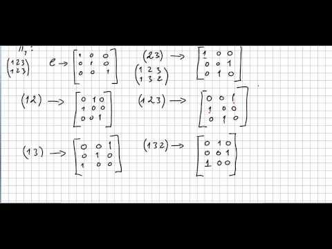 Representation theory 20,  Standard Representation