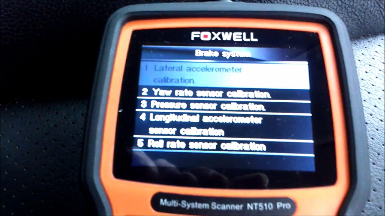 Fault codes and special functions on a 2010 Land Rover Freelander 2 with a  Foxwell NT510 Scan Tool