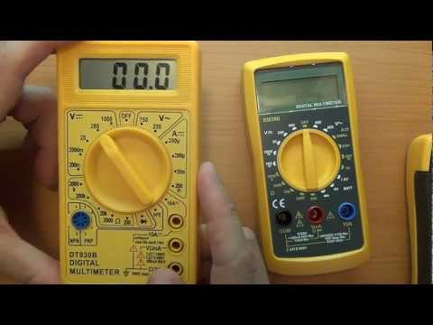 El Cheapo Multimeter Review - CAT ratings, safety, Standards Compliance / Certification