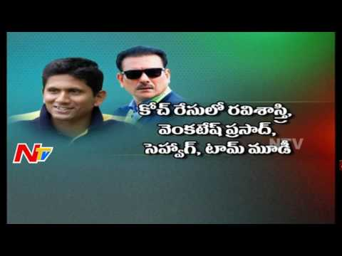 Former Indian Bowler Venkatesh Prasad Submits Application for India Coach Post || NTV