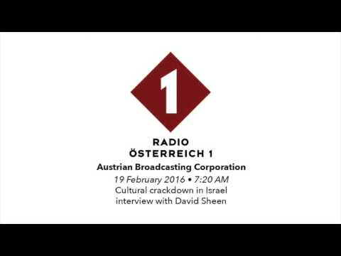 Cultural crackdown in Israel - Austrian Radio