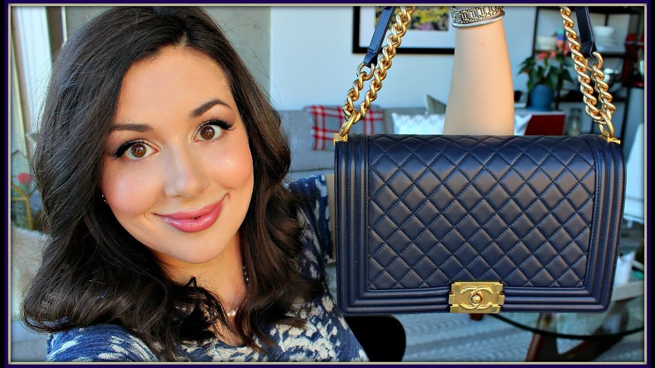 084be7616d0aa4 Chanel Boy Bag Reveal and Review! - YouTube