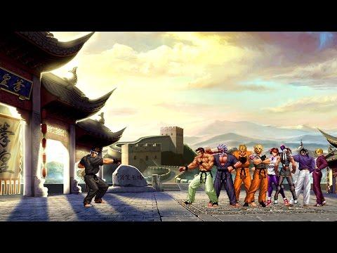 Mugen - 8 versus 1 - Kung Fu Man vs. Art of Fighting Team - 極限男/功夫男 vs. 龍虎之拳隊 - 동영상