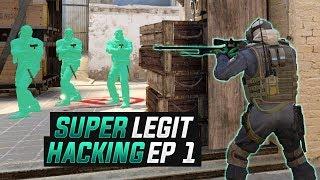 CS:GO | SUPER LEGIT Hacking // GOOD LUCK OVERWATCH... #SUPERLEGIT