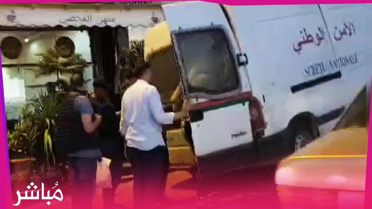 """طنجة..الأمن يداهم مقهى للشيشة بتجزئة """"العشيري"""" ويوقف 50 شخصا"""