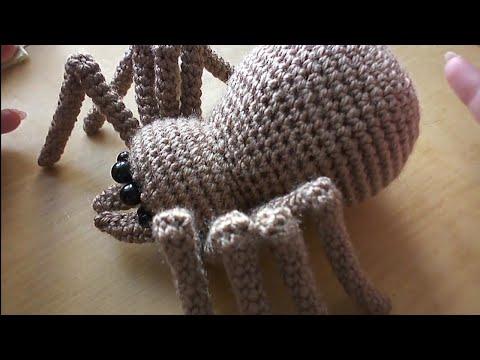 Связать паука крючком