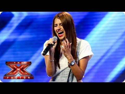 Hannah Sheares sings Sky Scraper by Demi Lovato -- Arena Auditions Week 4 -- The X Factor 2013 Mp3