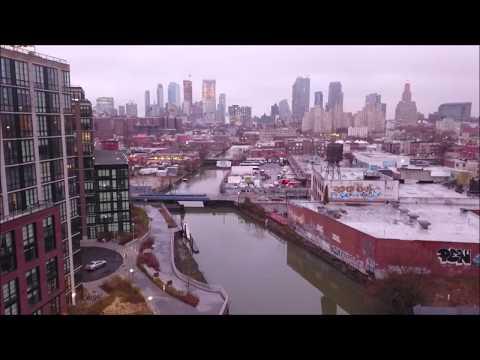 Welcome To Venice Jerko | Gowanus Canal April 19' | Brooklyn | DJI Drone Aerial
