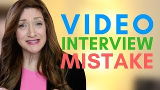 #1 Thing Recruiters HATE Seeing In Video Interviews