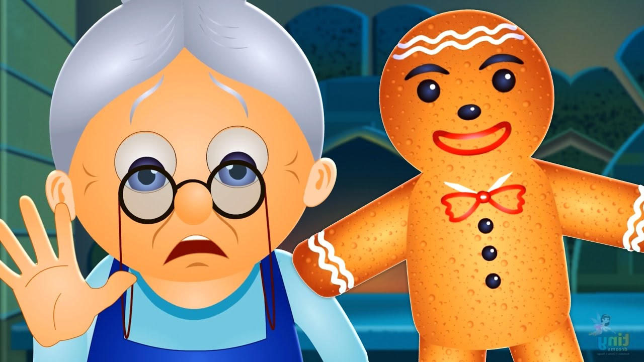 The Gingerbread Man Story | Fairy Tales for Children ...