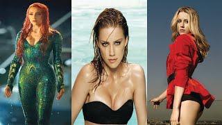 Aquaman: Amber Heard (Mera) hot & rear photoshoot