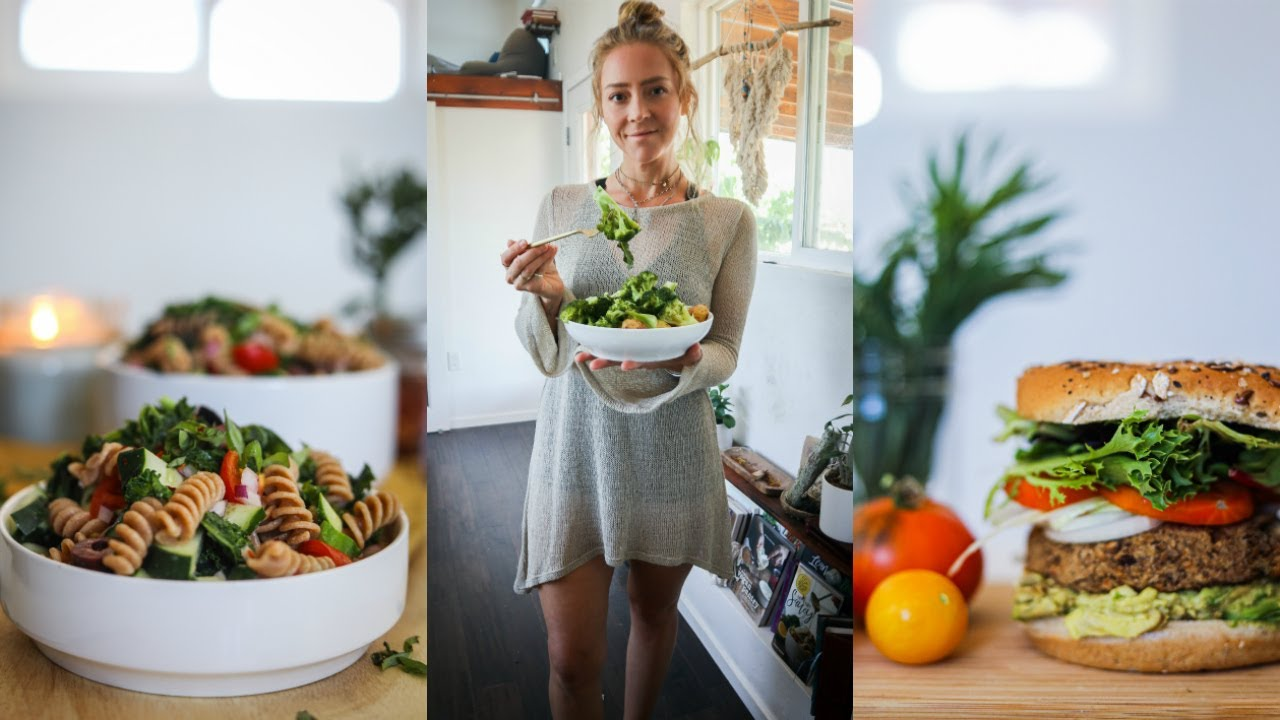 WHAT I EAT IN A DAY + MY MINIMALIST CLOSET TOUR