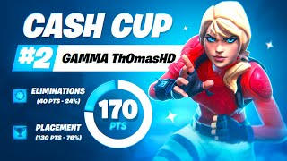 SOLO CASH CUP 2ND PLACE   Th0masHD