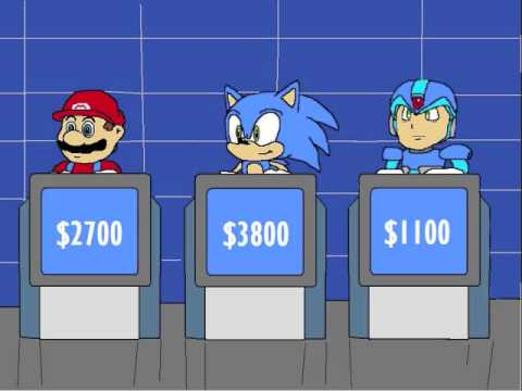 Jeopardy! Video Game Celebrity (Part 1) - YouTube