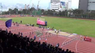 港九區D1中學學界田徑賽 2015-2016 GB 100m