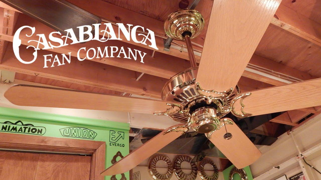 Casablanca panama 5 ceiling fan youtube aloadofball Gallery