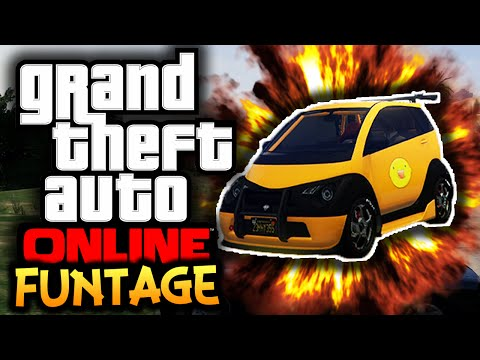 GTA 5: Online Next Gen - Funtage! - (GTA 5 Funny Moments)