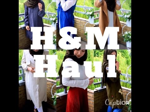 XXL 400€  H&M Haul Sommer 2016 |Try-On | Unboxing | Hijabflowers