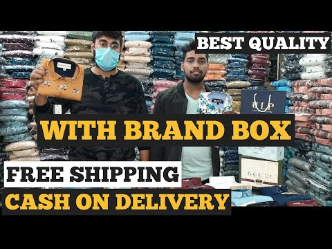 Branded Shirts / Tank Road Shirt Manufacturer / Cash On Delivery / Free Shipping / Richmond Shirts