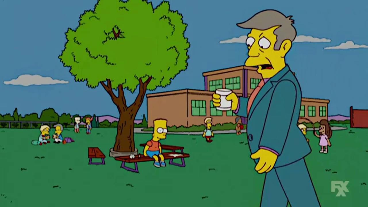 The Simpsons Prinl Skinner Coffee
