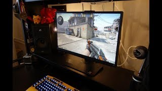 ViewSonic XG2530 review - 240Hz 1080p gaming monitor - By TotallydubbedHD