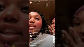 FUNNY: Brandy trying to get her daughter to sing on IG Live! c