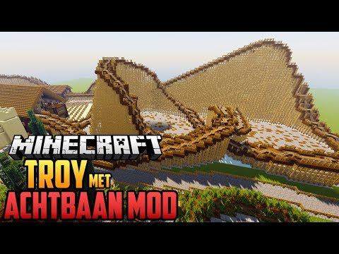 TROY VAN TOVERLAND MAKEN MET ACHTBAAN MOD - Minecraft Mod Showcase