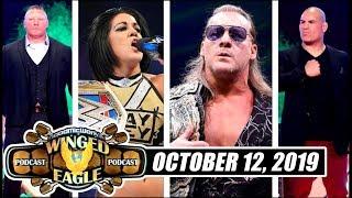 WWE Draft Kicks Off! | Brock vs Cain Official | Jericho's EPIC AEW Promo | Bayley NEW Champ
