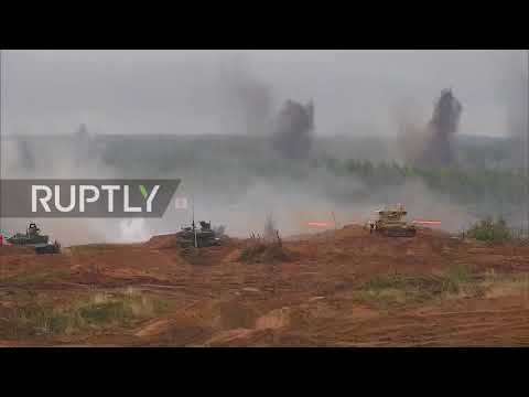 Russia: Putin and Shoigu pay a visit to Luzhsky as Zapad-2017 drills continue