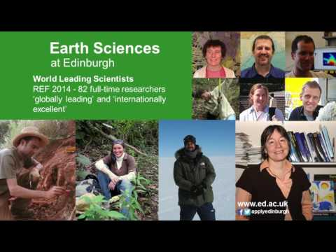 Earth Sciences at Edinburgh Open Day Talk