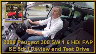 2009 Peugeot 308 SW Videos