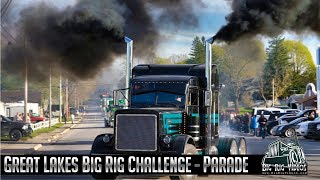 2019 Great Lakes Big Rig Challenge - Parade