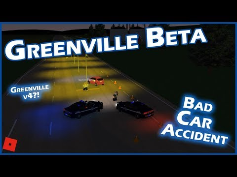 CAR ACCIDENT!!! || ROBLOX - Greenville Beta