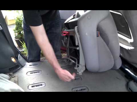 How To Fit The Back Seats Into A Vw Sharan Youtube