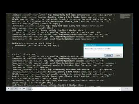 How to Switch Single Lines CSS to Multiple Lines in Sublime Text