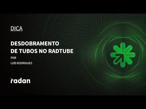 Dica 11 Radan | Radtube - Desdobramento de Tubos