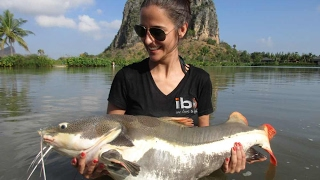 Fishing in Thailand at Jurassic Mountain Resort PART 3 of 3 (Angeln Claudia Darga)