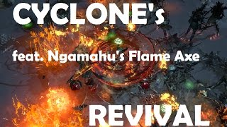 Path of Exile - CYCLONE's Revival feat. Ngamahu's Flame | Chieftain Build Guide | MANMODE
