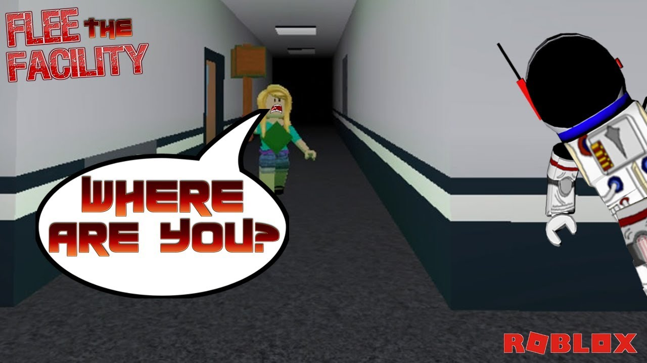 Roblox Flee The Facility Sneaking Around The Map Youtube