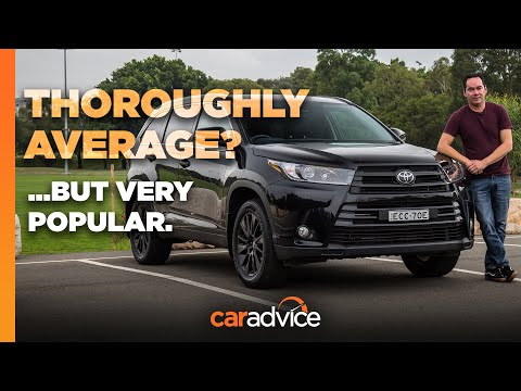 2020 Toyota Kluger / Highlander Black Edition AWD | New Car Review | CarAdvice