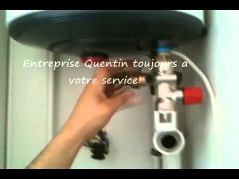 video reparer un chauffe eau - youtube