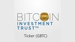 Investing in Bitcoin - Grayscale Bitcoin Trust & Its MASSIVE Holdings of Bitcoin